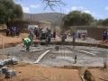 Bau eines wassertanks