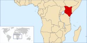 Kenia-Lage