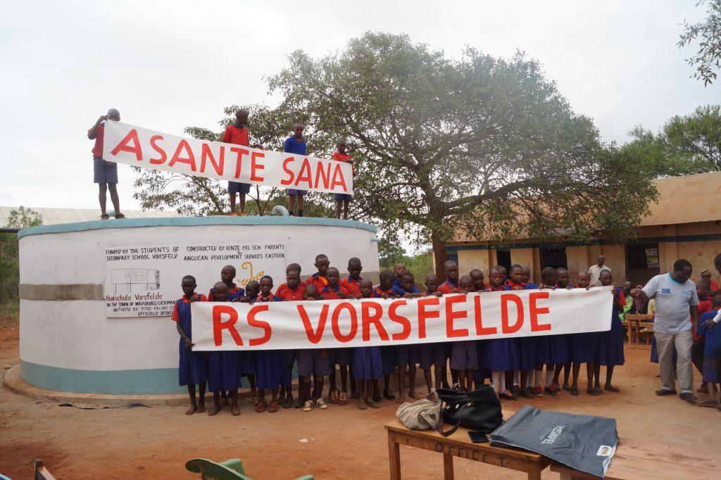 Asante Sana RS Vorsfelde= VielenDank Realschule Vorsfelder